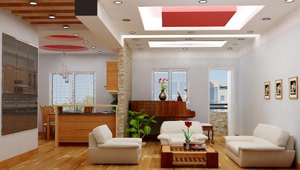 Thi công vách thạch cao TPHCM cho căn hộ chung cư