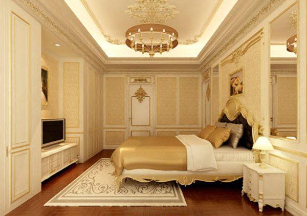 Thi công vách thạch cao TPHCM cho phòng ngủ